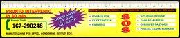 ITALIA - SEGNALIBRO / BOOKMARK / CALENDARIO 1999 / RIGHELLO - PRONTO INTERVENTO OPERANTE 24 ORE NO-STOP - Segnalibri