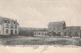 Voneche Le Quartier De La Gare Circulé En 1905 - Beauraing