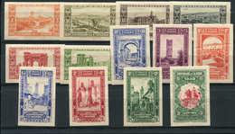 * ALGERIE 87/99 : Série Du Centenaire, Non Dentelés, TB - Algérie (1924-1962)