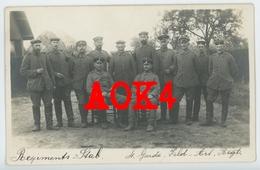 WAVRE Brabant Garde Feldartillerie Regiment 4 1915 Paul Descamps Feldgrau Occupation Allemande - Waver