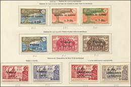 * CAMEROUN 233/35, 240/44 Et 247/48, TB - Cameroun (1915-1959)