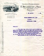03.ALLIER.MOULINS.GRAINES FOURRAGERES.E.DESJOBERT & FILS 17 RUE DE VILLARS. - Agriculture