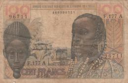 BCEAO - 100 F - Banque Centrale Des Etats De L'Afrique De L'Ouest - 20/03/1961 - West African States