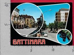 CARTOLINA VG ITALIA - GATTINARA (VC) - Vedutine Multivue - 10 X 15 - ANN. 2002 - Vercelli