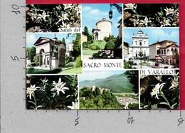CARTOLINA VG ITALIA - Saluti Dal SACRO MONTE Di VARALLO (VC) - 10 X 15 - ANN. 2002 CINEMA VITTORIO DE SICA - Saluti Da.../ Gruss Aus...