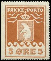 * DANEMARK Groenland 3a : 5ö. Brun Rouge, Dent. 12 1/4, TB. S - Groenland
