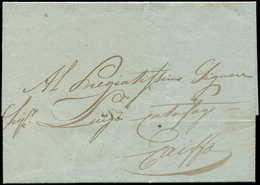 Let PALESTINE LAC D'ACRE Du 26/2/1850 Pour Caiffa, TB - Palestine
