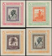 ** RUANDA ET URUNDI BF 1A/4A : UPU 1949, Tirage 300 Ex., TB, Cote Et N° C.O.B., TB - Ruanda-Urundi