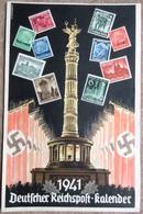DR Deckblatt Deutscher Reichspost-kalender 1941 Siegessäule, Hakenkreuzfahnen - Deutschland