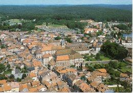 CPM 70 HAUTE-SAÔNE - LUXEUIL Les BAINS -  Le  Centre Ville  -  Vue  Générale Aérienne - Luxeuil Les Bains