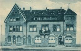 Ansichtskarte  Consum- Restauration W Deuster 1918 - A Identificar