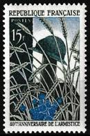 Timbre-poste Gommé Neuf** - 40ème Anniversaire De L'armistice - N° 1179 (Yvert) - France 1958 - Frankreich