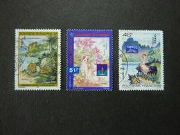 POLYNESIE FRANCAISE, Année 1993-96, YT N° 439-453-501 Oblitérés - Polynésie Française