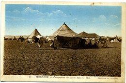 Maroc - Mogador (Essaouira) - Campement De Caïds Dans Le Bled. - Maroc