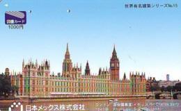 Carte Prépayée Japon * ANGLETERRE * ENGLAND * LONDON (351) GREAT BRITAIN Related *  Prepaid Card Japan * - Landscapes