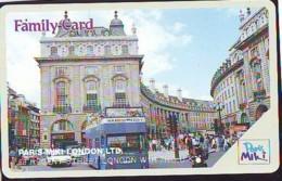 Carte Prépayée Japon * ANGLETERRE * ENGLAND * LONDON * REGENT STREET (352) GREAT BRITAIN Related * Prepaid Card Japan * - Landscapes