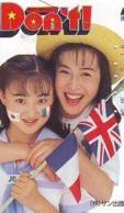 Télécarte Japon * ANGLETERRE * ENGLAND * LONDON * FEMMES  (364) GREAT BRITAIN Related *  Phonecard Japan * - Landschappen