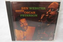 """CD """"Ben Webster Meets Oscar Peterson"""" - Jazz"""