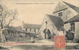 CORMEILLES EN VEXIN - Le Portail De L'église - 7 - Cormeilles En Parisis