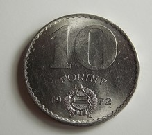 Hungary 10 Forint 1972 Varnished - Hongrie