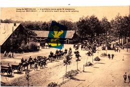 Camp De BEVERLOO - L'Artillerie Rentre Après La Manoeuvre - De Artillerie Keert Terugna De Oefening - Leopoldsburg (Kamp Van Beverloo)