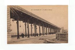 Paris XVè. Le Métro Albony. (3217) - Transport Urbain En Surface