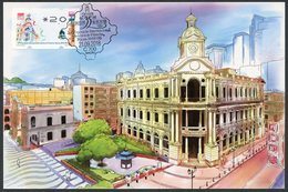 MACAU / MACAO (2018). ATM Newvision - Asian International Stamp Exhibition, Main Post Office, Poste - Carte Maximum Card - 1999-... Región Administrativa Especial De China
