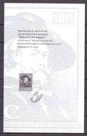 ZNP 36 Rubens ZWART WIT VELLETJE 2004 - Zwarte/witte Blaadjes