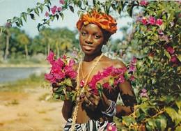 AFRIQUE. SIERRA LEONE. DOUALA. FLORAL MAIDEN. PUBLICITE AMORA - Sierra Leone