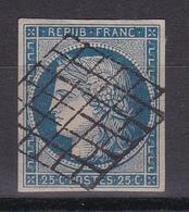 D323/ CERES N° 4 OBL COTE 65€ - 1849-1850 Ceres