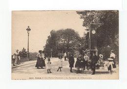 Paris. Les Buttes Chaumont. La Pyramide De L'Observatoire. Enfants, Promeneurs. (3219) - Parcs, Jardins
