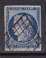 D323/ CERES N° 4A OBL COTE 75€ - 1849-1850 Ceres