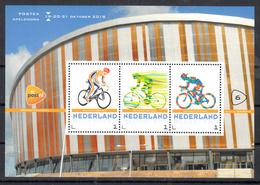 Nederland 2018 Persoonlijke Zegels PostNL Postex Nr  6: Thema Baan Wielrenner, Bike , Cycling - Period 2013-... (Willem-Alexander)