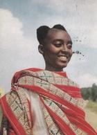AFRIQUE. RUANDA - URUNDI.  FILLE WATUTSI. PUBLICITE AMORA. ANNEE 1961 - Ruanda- Urundi