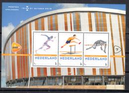 Nederland 2018 Persoonlijke Zegels PostNL Postex Nr  7: Thema Indoor Atletiek, Indoor Athletics - Period 2013-... (Willem-Alexander)