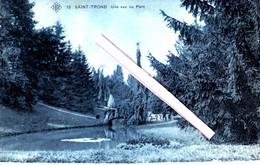 SAINT-TROND -- Une Vue Du Parc - Carte Bleutée - Sint-Truiden