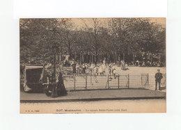 Paris. Montmartre. Le Square Saint Pierre. Gardiens De La Paix. Enfants. (3220) - Parcs, Jardins