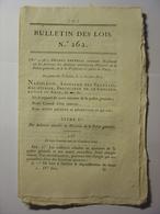 BULLETIN DES LOIS De 1810 - REGLEMENT POLICE GENERALE ET PREFECTURE DE POLICE DE PARIS - ABBEVILLE HOSSE SAINT RIQUIER - Decrees & Laws
