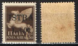 ITALIA - OCCUPAZIONE MILITARE JUGOSLAVA - ISTRIA-POLA - 1945 - CON SOVRASTAMPA - MNH - Occup. Iugoslava: Istria
