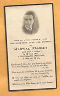 IMAGE GENEALOGIE FAIRE PART DECES MILITAIRE  WW2  POLOGNE  GOTENHAFEN 1945 MORT POUR LA FRANCE - Décès
