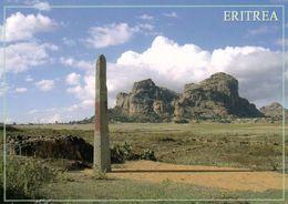 1 AK Eritrea * Eine Stele In Matara - Eine Der Historischen Stätten In Eritrea * - Eritrea