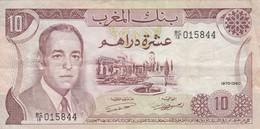 MAROC - 10 Dirhams - 1970 - Banque Du Maroc - Maroc