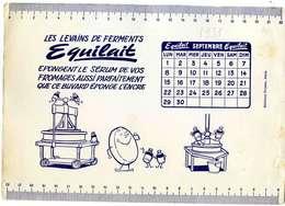 """B 5  /   1  BUVARD  """" EQUILAIT     """" - Produits Laitiers"""