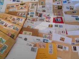 Collection , Europe 50 Grande Lettres Moderne De Jolis Affranchissements Avec Des Recommandees - Francobolli