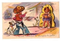 Image De Germaine Bouret (la Planche à Couteaux)  (PPP17070) - Old Paper