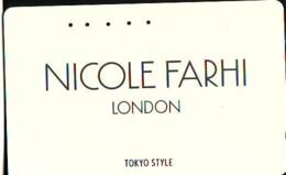 Télécarte Japon * ANGLETERRE * ENGLAND * LONDON * NICOLE FARHI  (366) GREAT BRITAIN Related *  Phonecard Japan * - Paysages