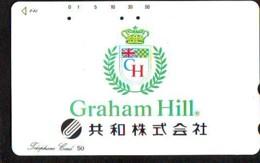 Télécarte Japon * ANGLETERRE * ENGLAND *  FORMULE I * GRAHAM HILL (367) GREAT BRITAIN Related *  Phonecard Japan * - Cars