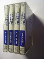 LIVRE AUDIO BOOK - MARGUERITE YOURCENAR - MEMOIRES D'HADRIEN - 7 K7 AUDIO - LU PAR JEAN CLAUDE REY - 1992 LIVRAPHONE - Casetes