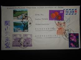 Taiwan , Lettre De 1968 Pour Sirnach - 1945-... República De China