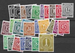 1946 MH American/British/Russian Zone Postfris** - American,British And Russian Zone